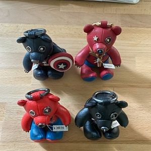 Coach X Marvel Collectible Bears